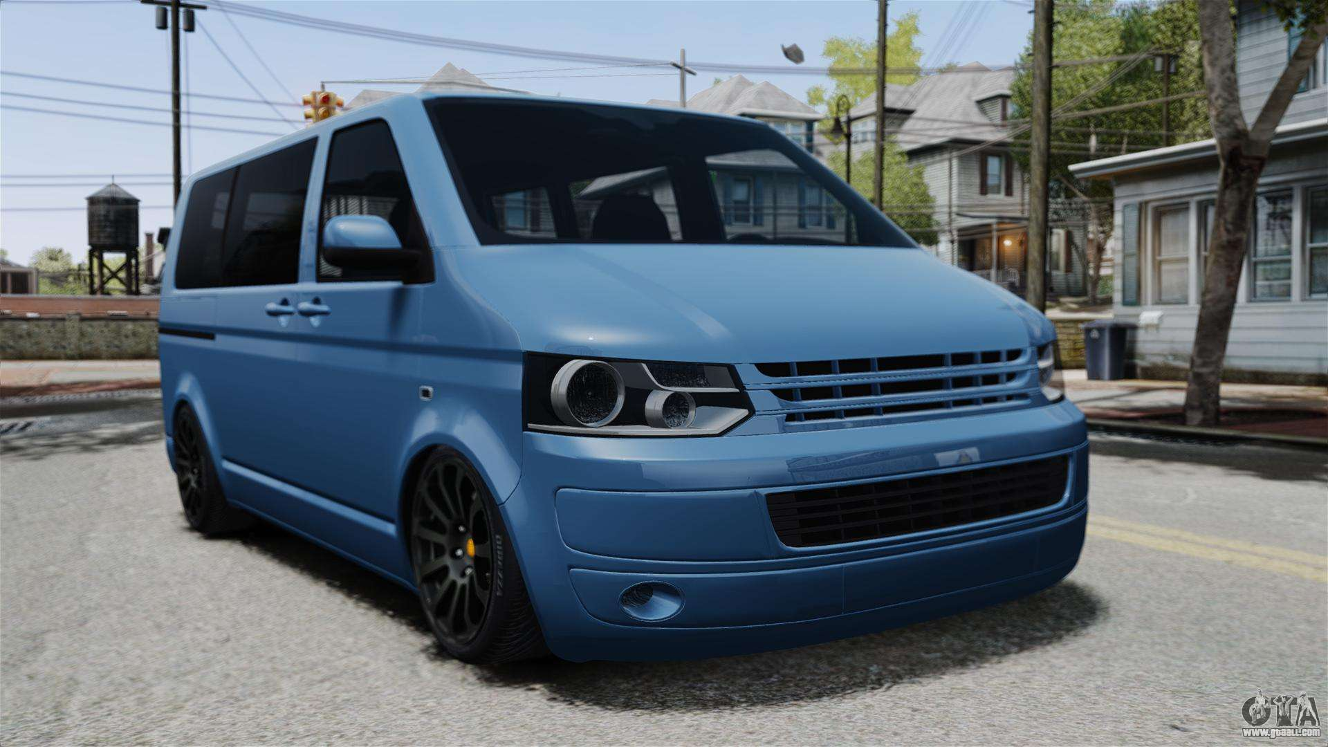 Vw Transporter T5 Volkswagen Transporter T5 2010 For Gta 4