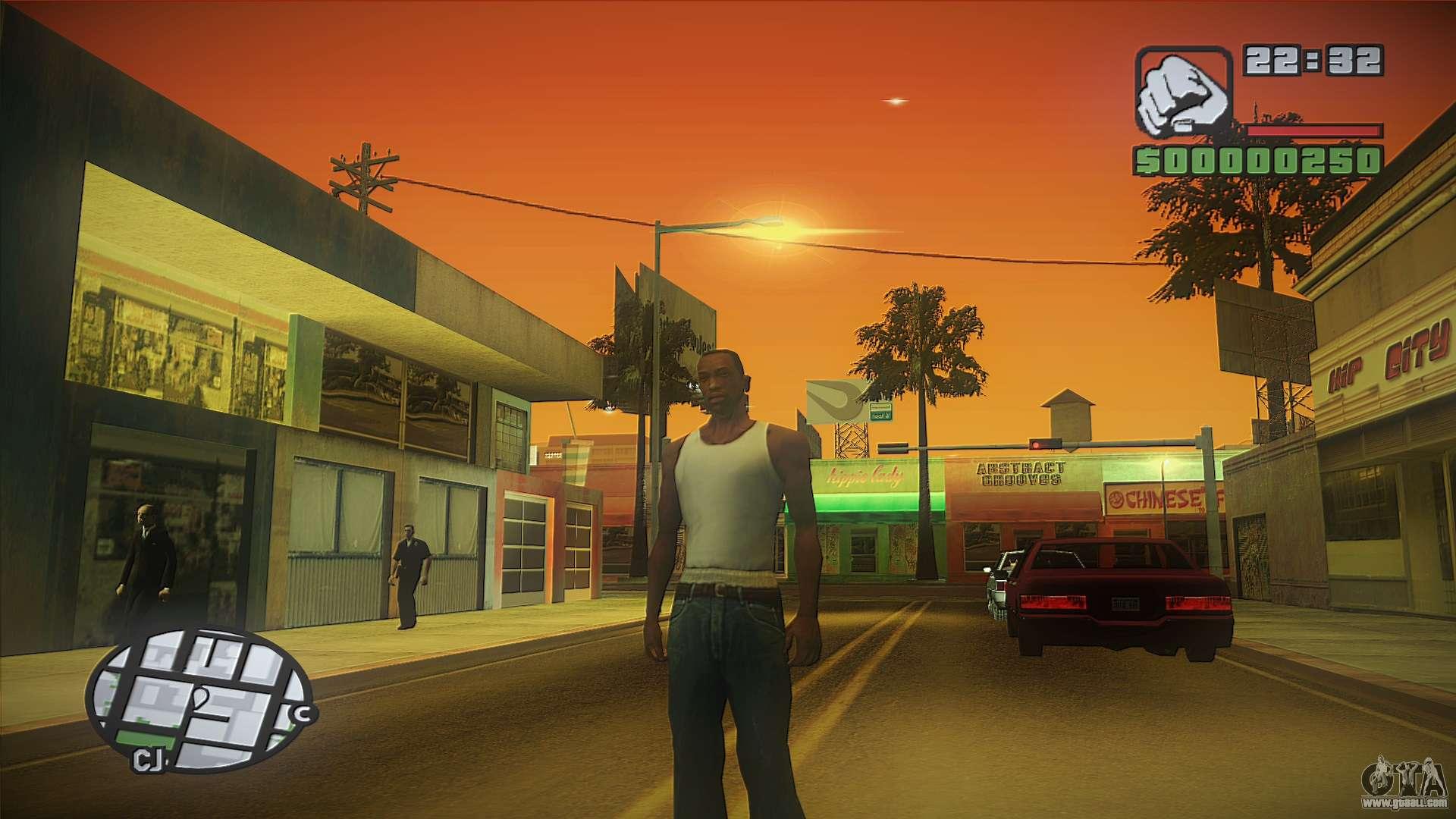 Gta San Andreas Wallpaper Hd Gta Hd Mod For Gta San Andreas