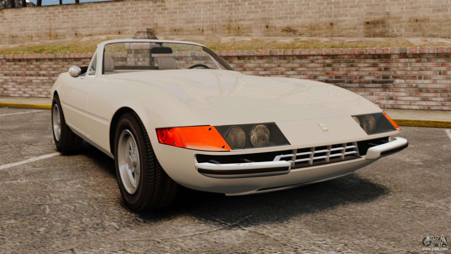 Gta 5 Cars Wallpaper Download Ferrari Daytona Spider For Gta 4