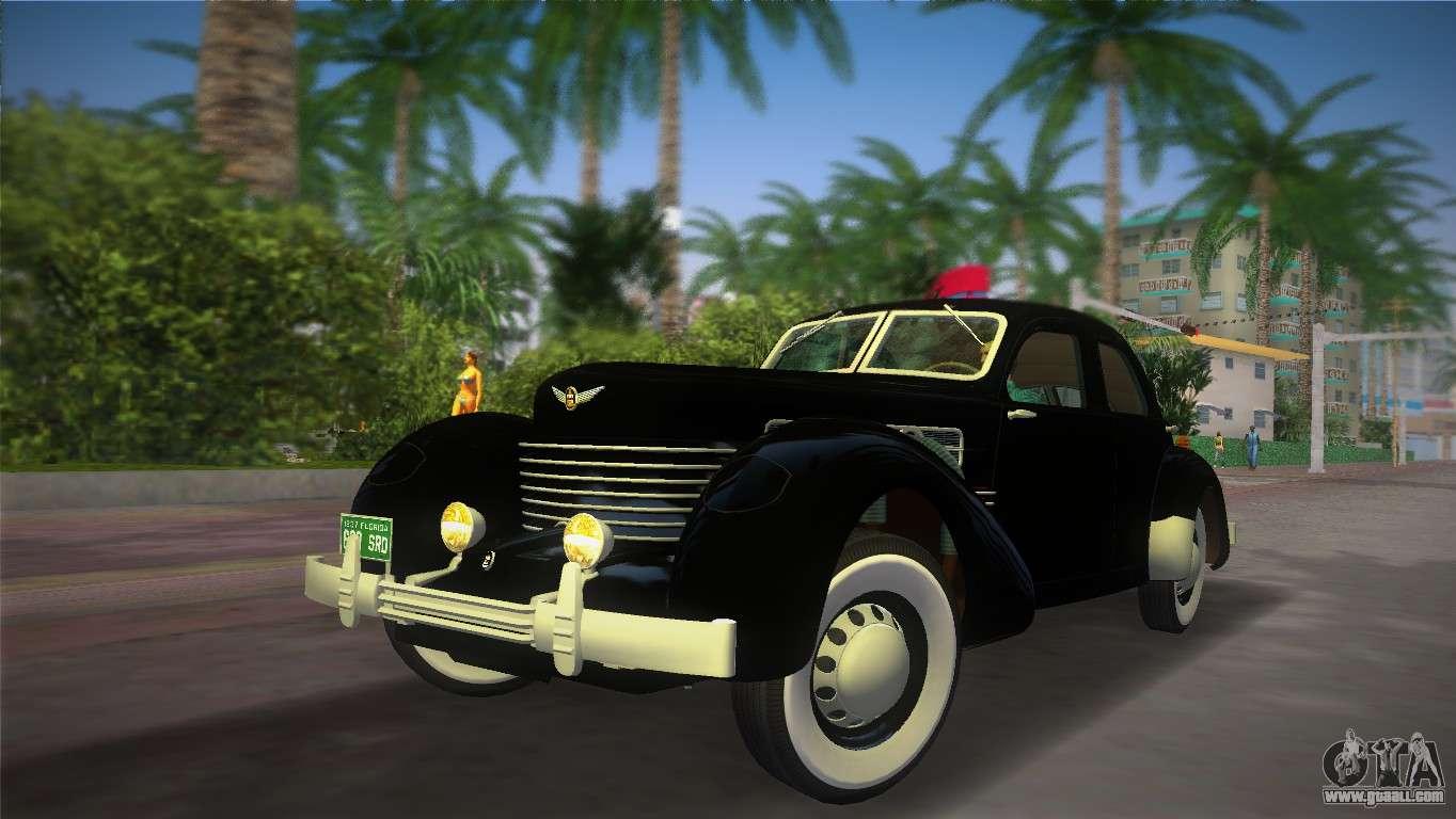 James Bond Car Wallpaper Cord 812 Charged Beverly Sedan 1937 For Gta Vice City