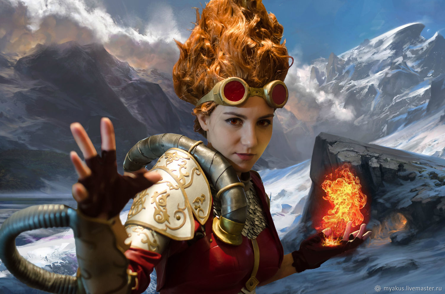 Mtg Online Shop Cosplay Chandra Nalaar