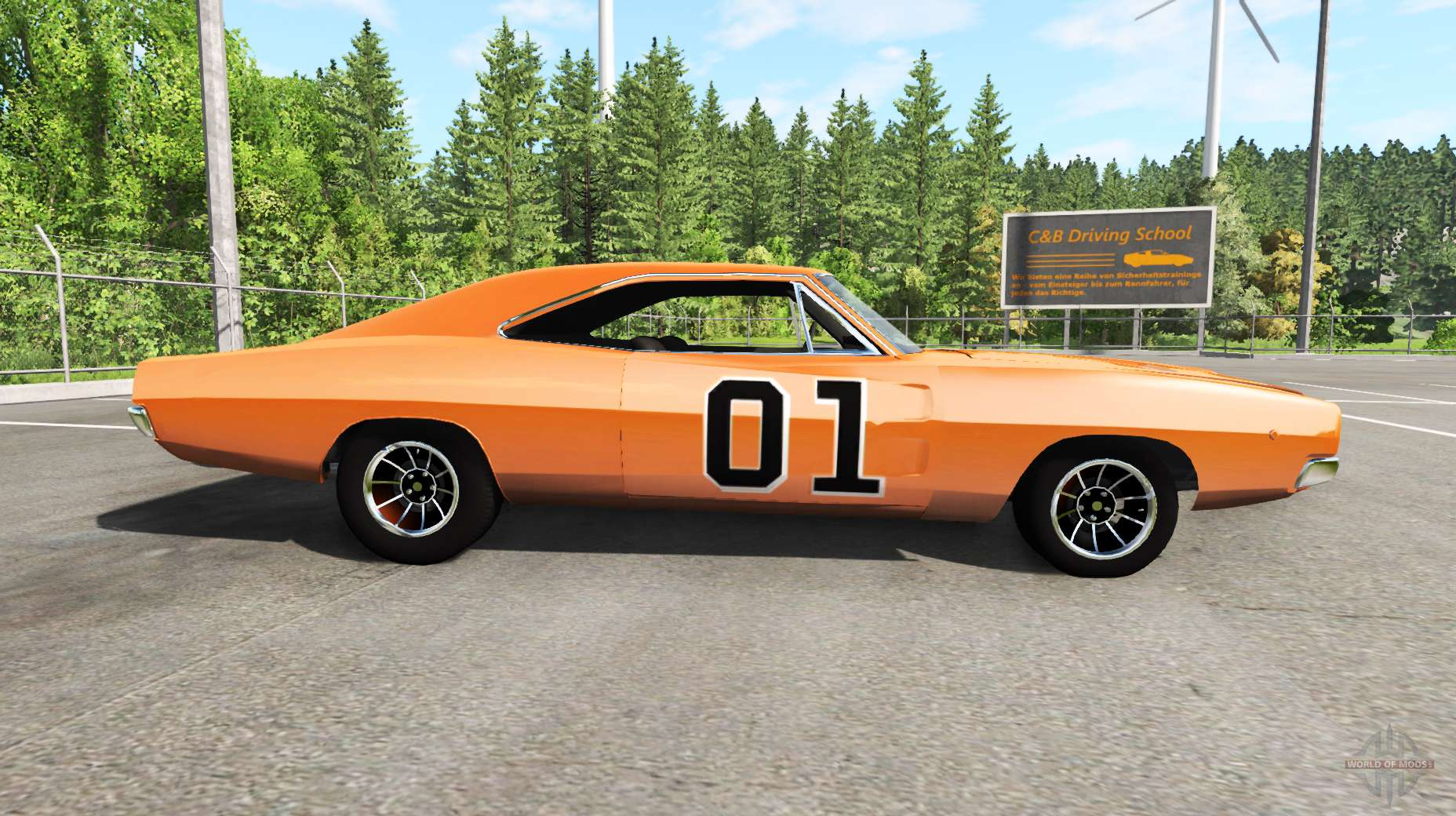Fast And Furious 4 Cars Wallpapers Dodge Charger Rt 1970 General Lee Pour Beamng Drive