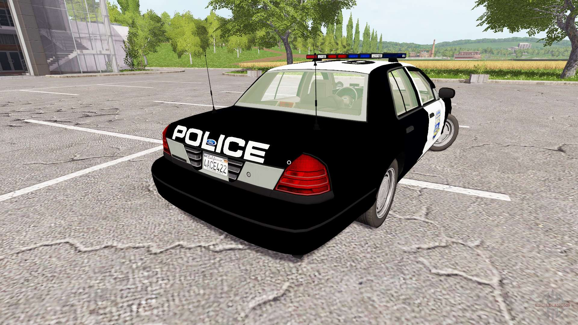 Crown Vic Buggy Ford Crown Victoria Police Para Farming Simulator 2017