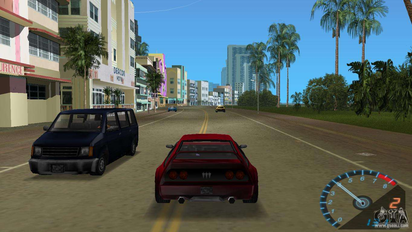 Honda City Car Hd Wallpaper Download The Speedometer From Nfs Underground For Gta Vice City