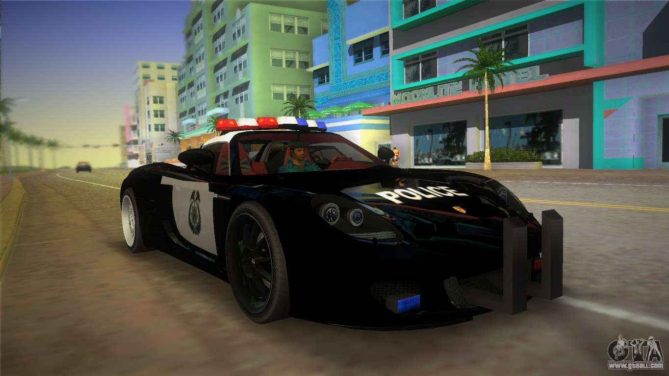 Lamborghini Police Car Hd Wallpaper Porsche Carrera Gt Police For Gta Vice City