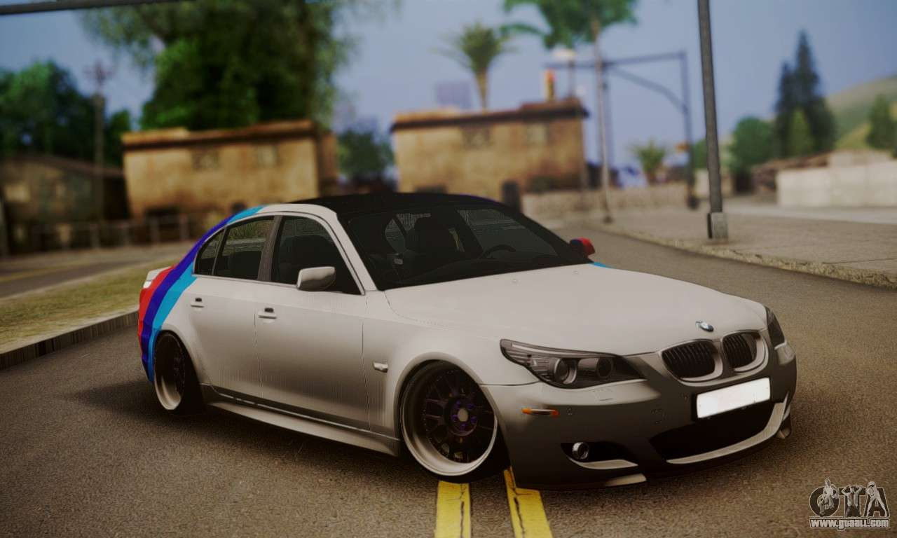 Police Car Lights Wallpaper Bmw M5 E60 Stance Works For Gta San Andreas