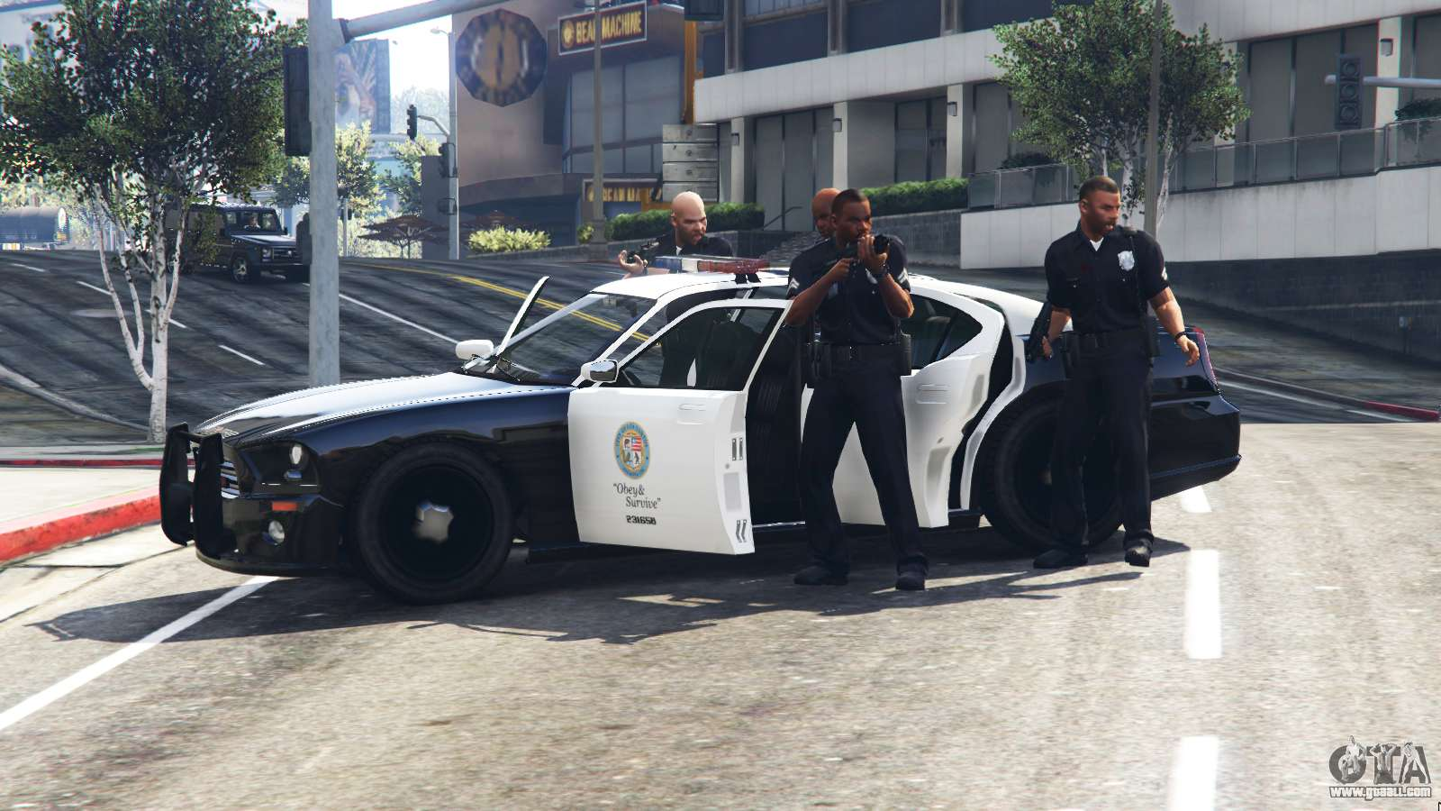 Police Car Chase Wallpaper Call The Police V0 1 For Gta 5