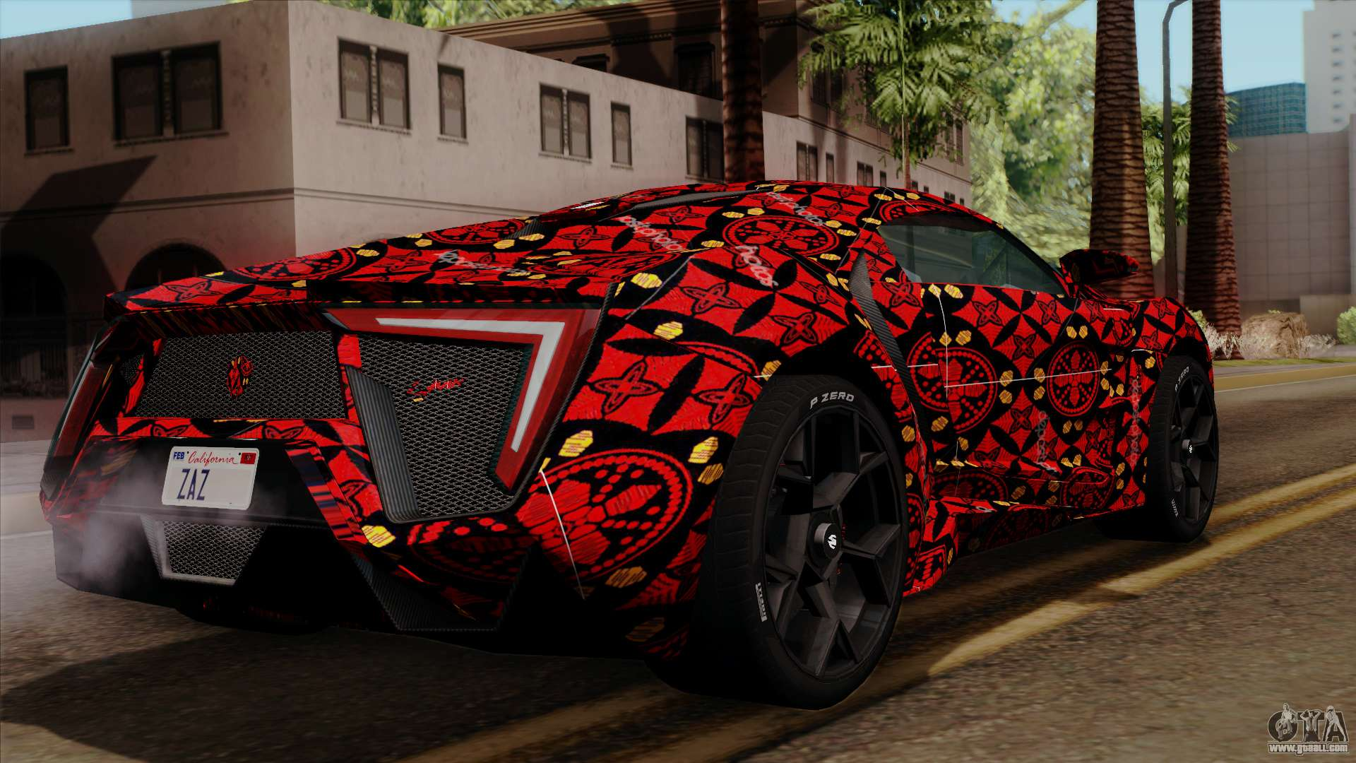 Gta San Andreas Wallpaper Hd Lykan Hypersport Batik For Gta San Andreas