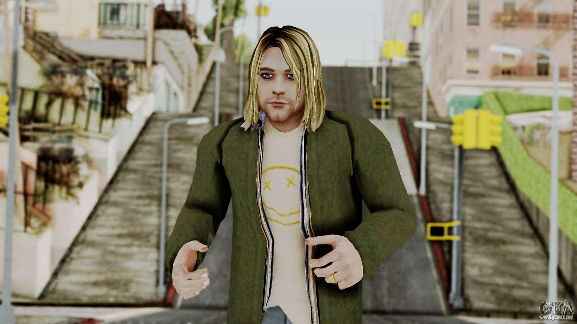 Wallpaper Gta San Andreas Hd Kurt Cobain For Gta San Andreas