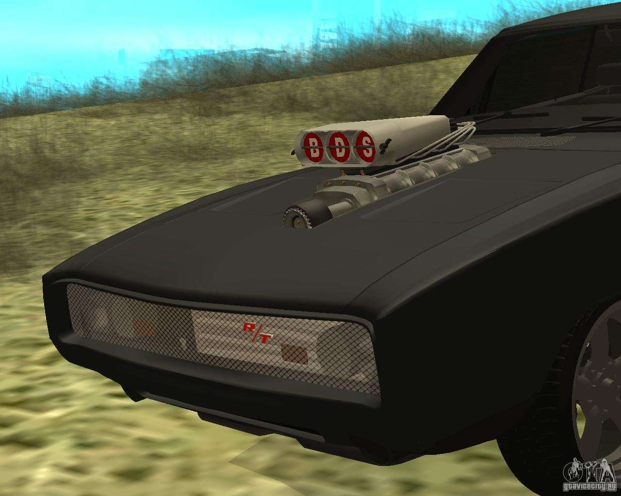 Police Car Lights Wallpaper Dodge Charger R T 1970 For Gta San Andreas