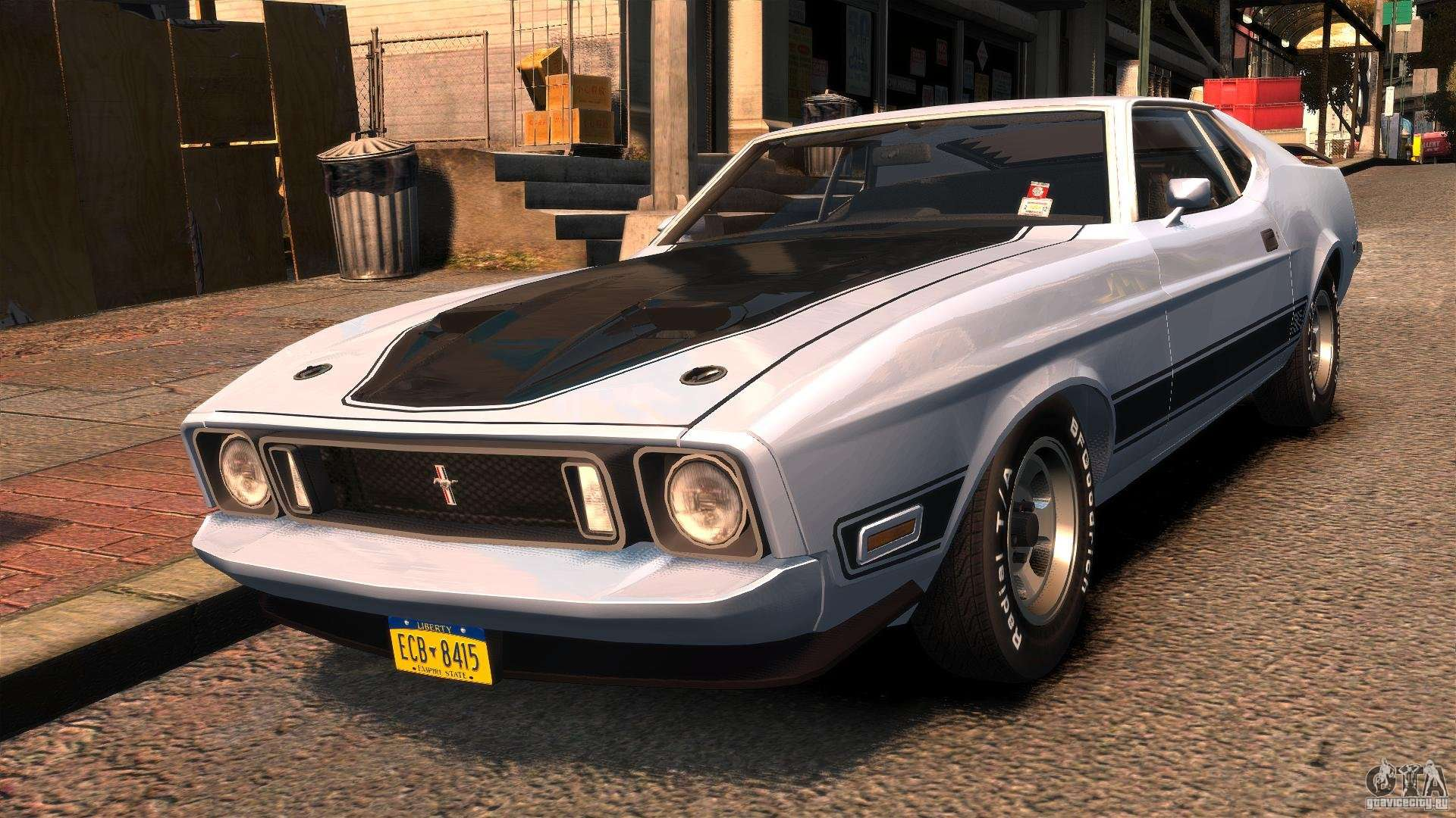 Fast And Furious 6 Cars Hd Wallpaper Ford Mustang Mach 1 1973 V2 For Gta 4
