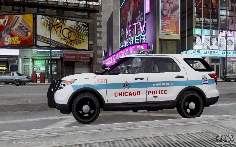 Cop Car Wallpaper Ford Explorer Chicago Police 2013 For Gta 4