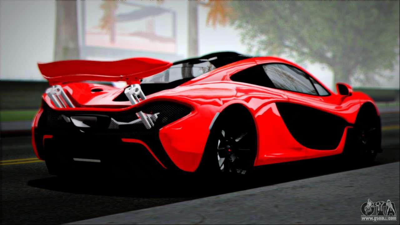 Lamborghini Sesto Elemento Wallpaper Hd Mclaren P1 2014 For Gta San Andreas