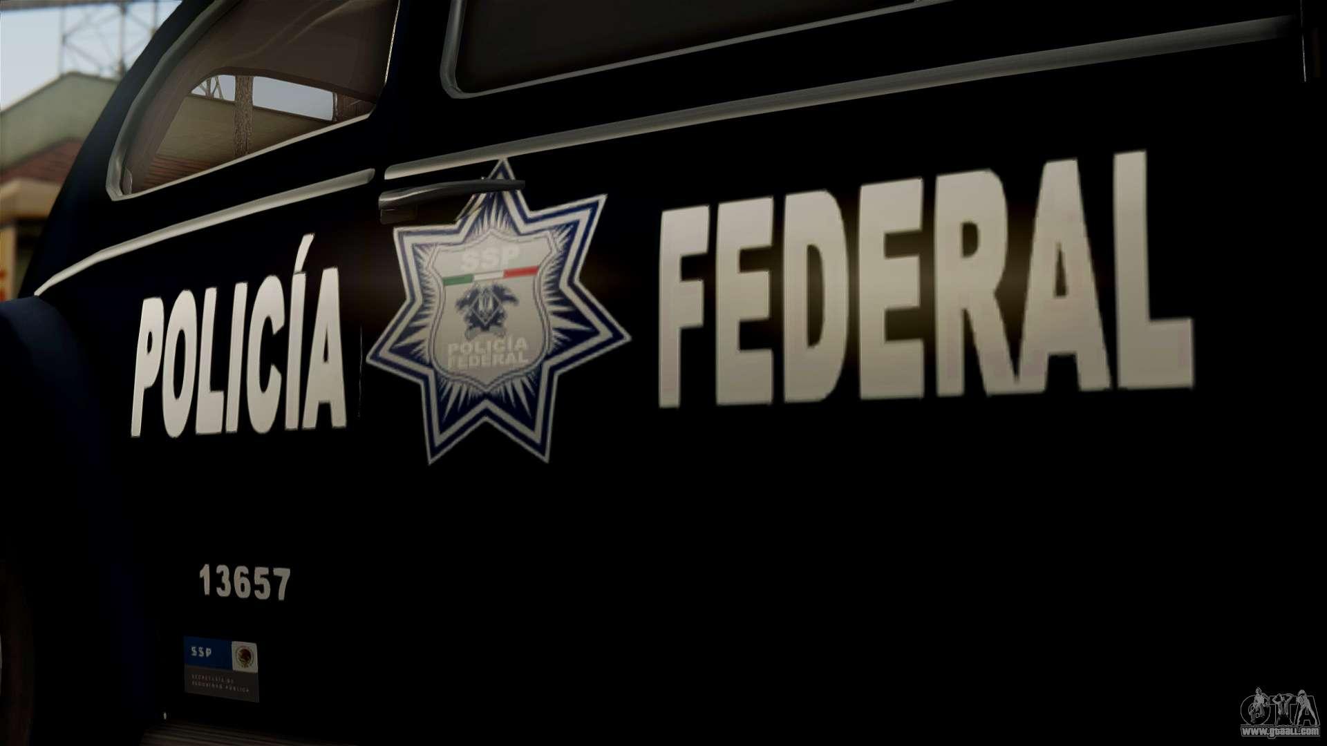 Police Car Lights Wallpaper Volkswagen Beetle 1963 Policia Federal For Gta San Andreas