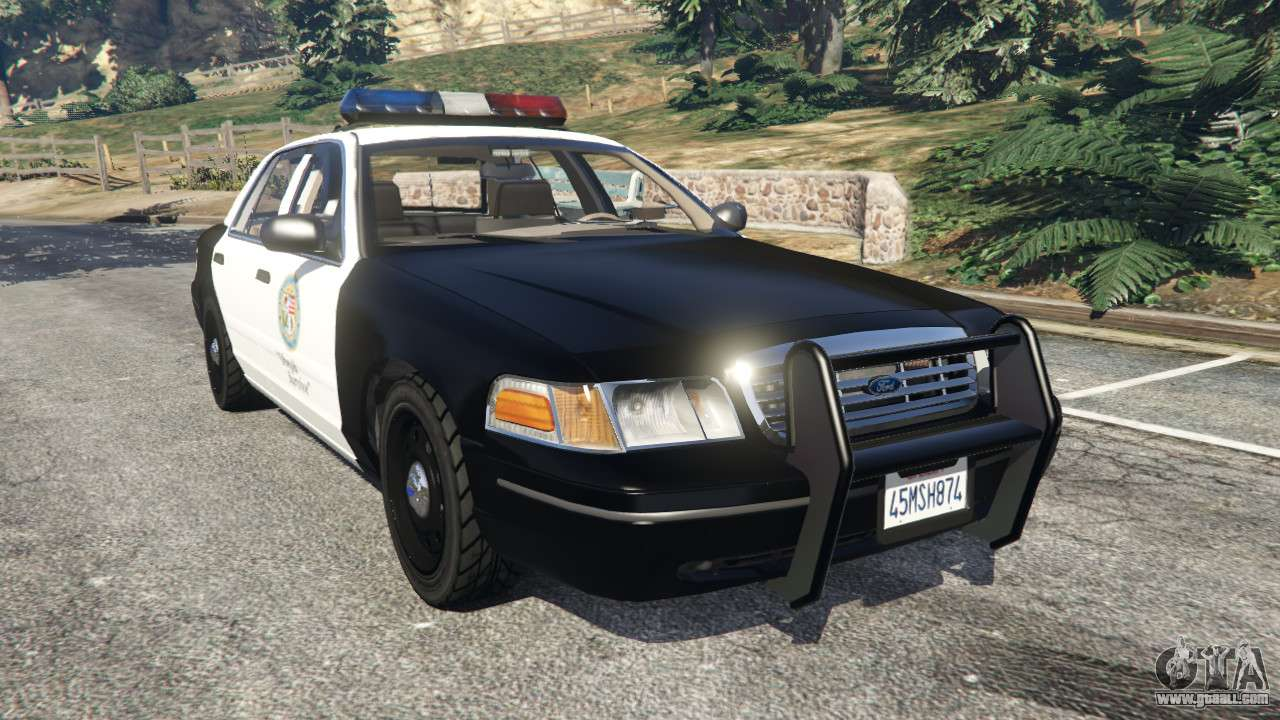 Crown Vic Buggy Ford Crown Victoria 1999 Police V1 For Gta 5