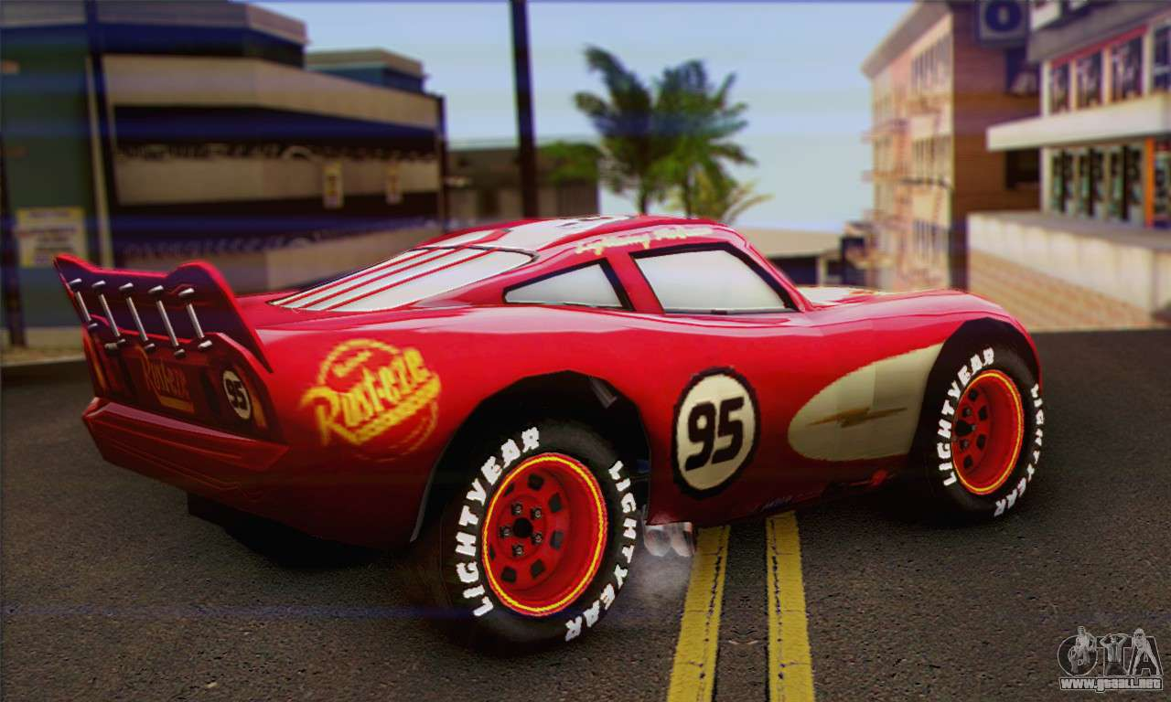 Mater Cars Wallpaper Lightning Mcqueen Radiator Springs Para Gta San Andreas