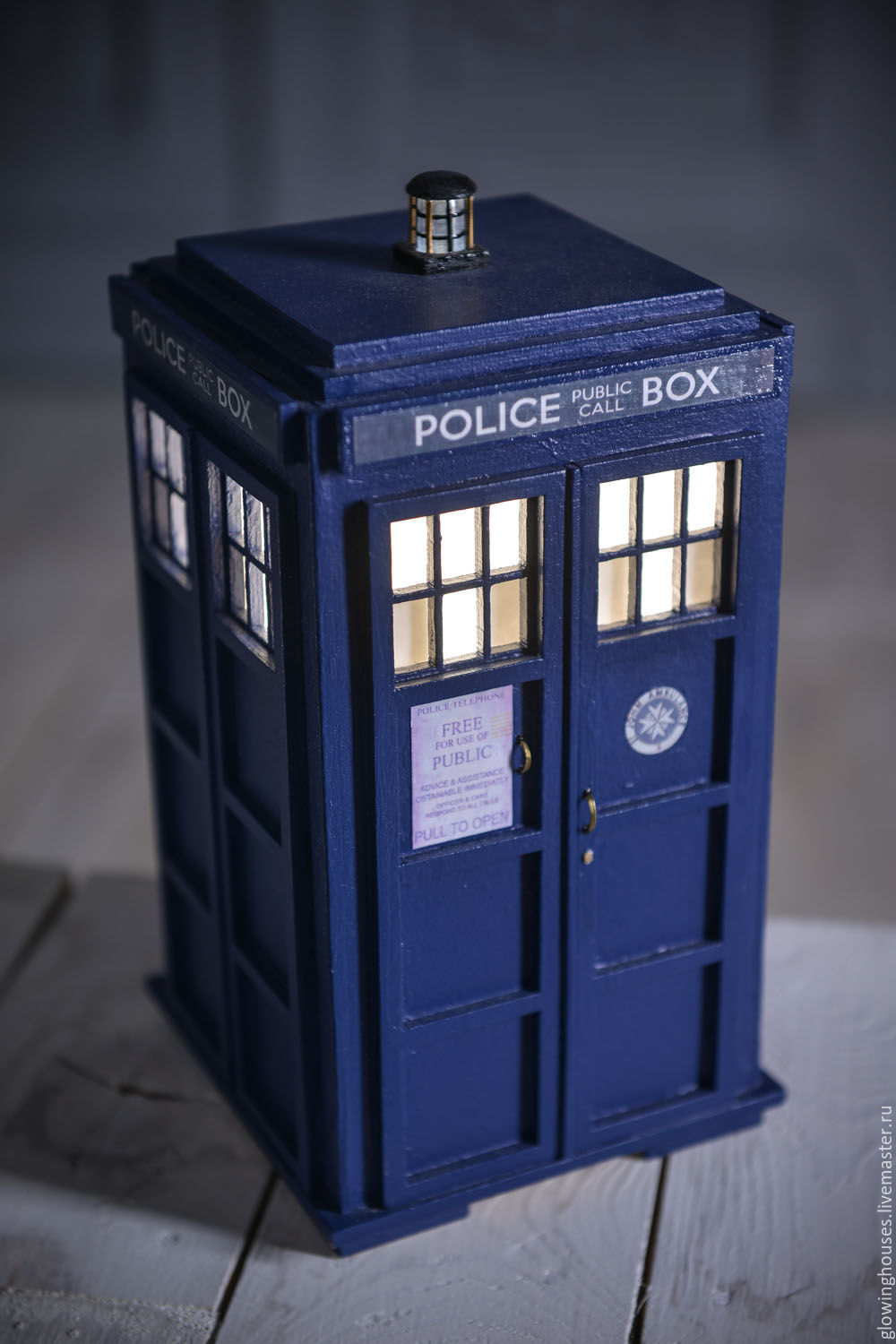 Lampara House Doctor Tardis Lamp – Shop Online On Livemaster With Shipping