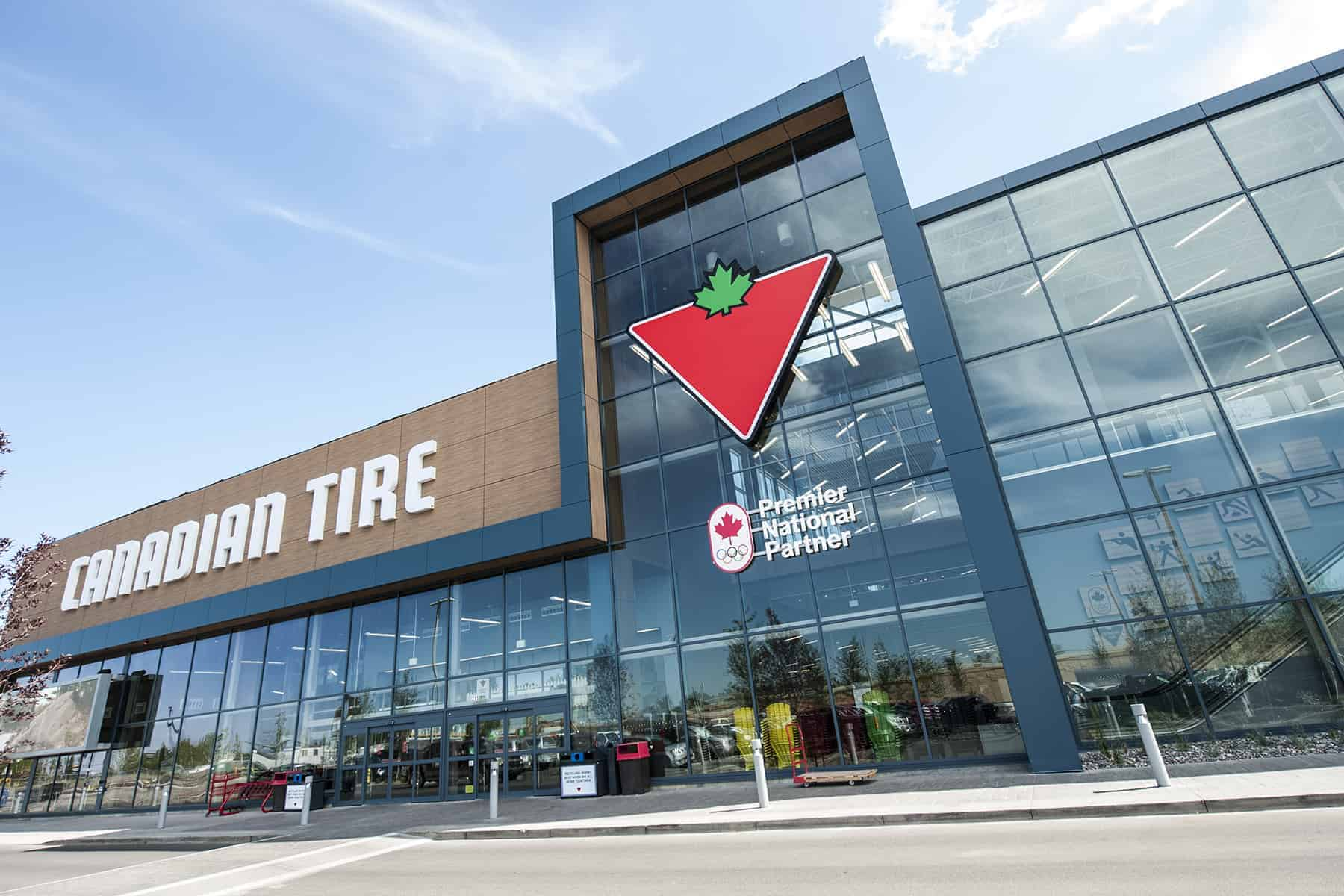 Canadian Stores Custom Printed Balloons For Canadian Tire Grand Re Opening