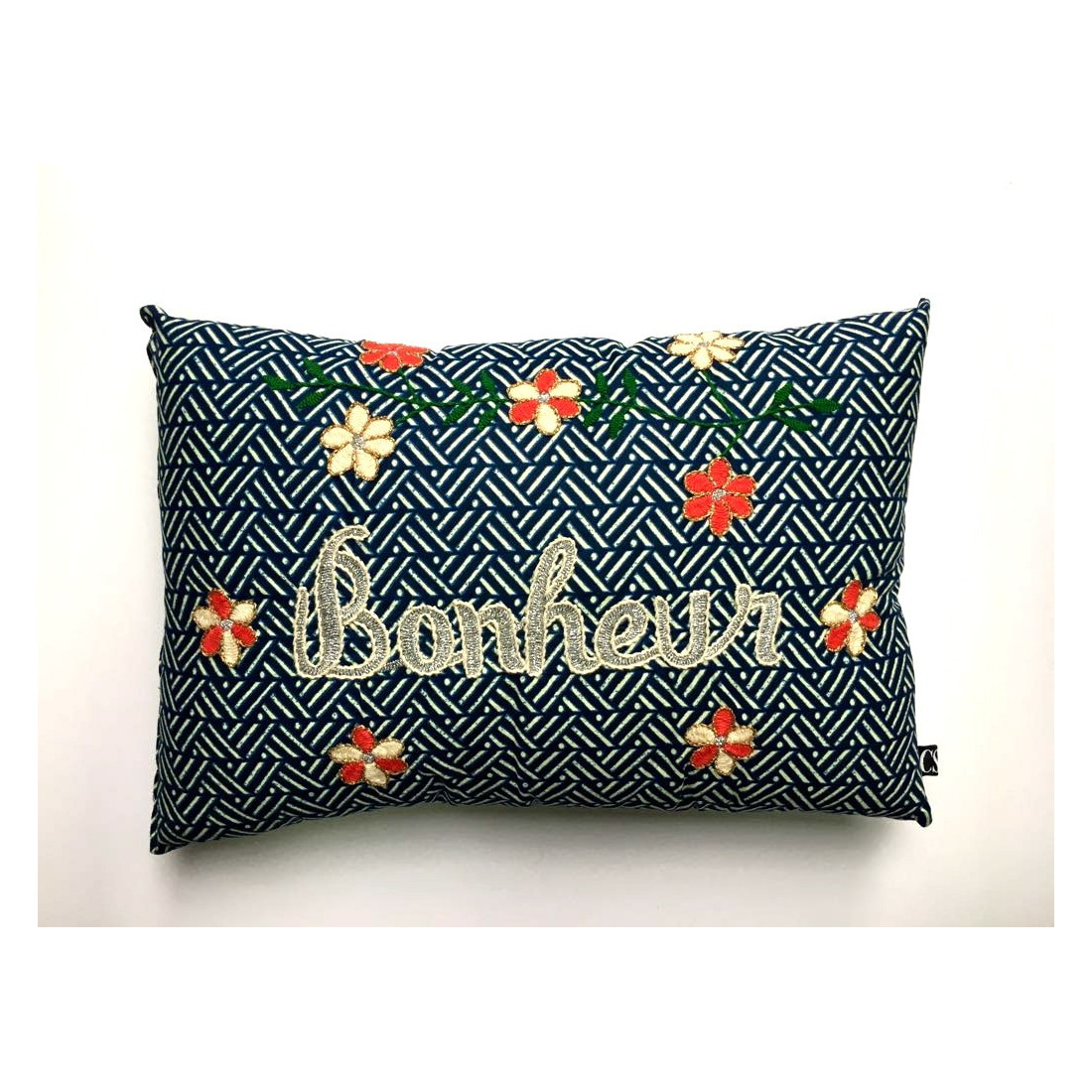 Brodé Happiness Embroidered Cushion
