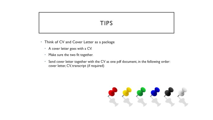 Cover Letter \u2013 Career Services Center - the cover letter