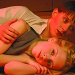 Shannon Smay, as Dwight, and Amanda Pintore, as Jean