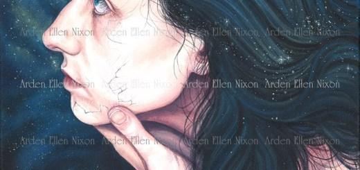 """""""Cinderella"""" in acrylic on canvas by Arden Nixon."""