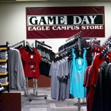 Apparal items for sale at the new Game Day Eagle Campus Store in the Student Center, Aug. 16, 2016.—Melanie Nelson