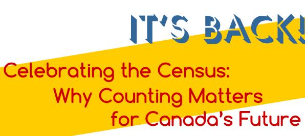 Celebrating the census banner