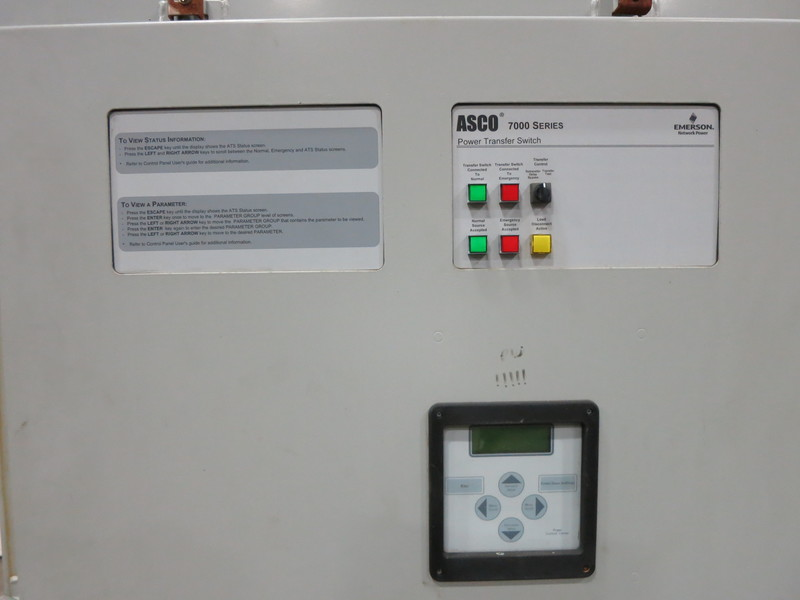Used Asco 800 Amp Automatic Transfer Switch, Series 7000
