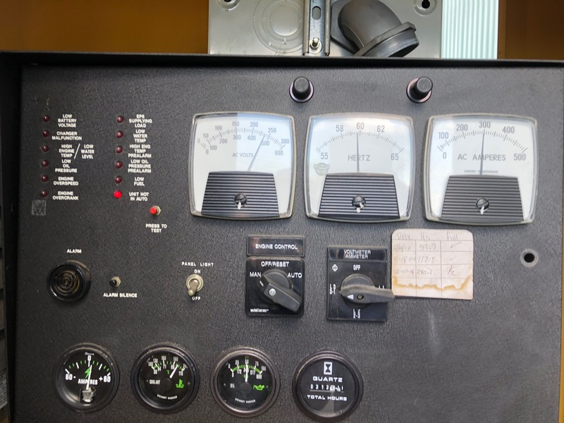 Used Katolight D125FJJ4 Diesel Generator 313 Hrs 125 KW 0