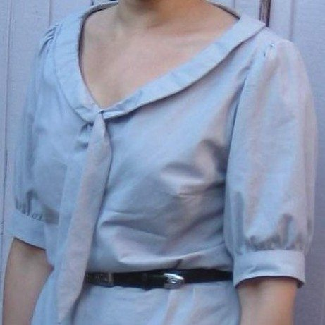 My finished Jasmine top by Colette Patterns