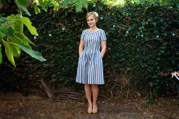 Emery Dress - sewn by Devon of Miss Make - pattern by Christine Haynes
