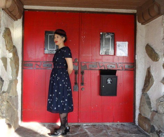 Emery Dress - sewn by Chuleenan of csews.com - Christine Haynes sewing pattern