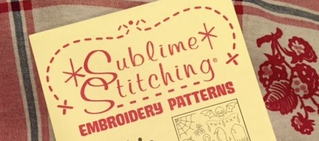 Sublime Stitching - embroidery pattern - csews.com