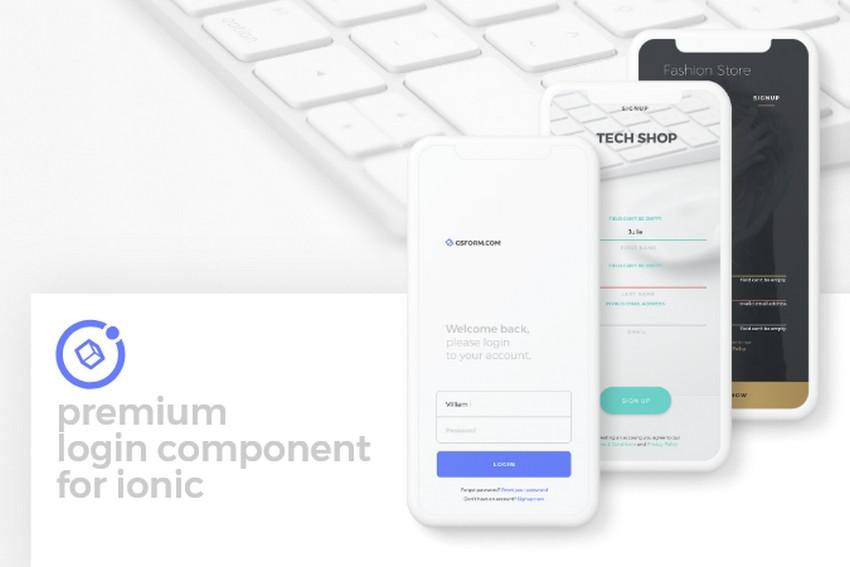 Top 12 App Login Screen Examples To Spark Your Inspiration CSForm