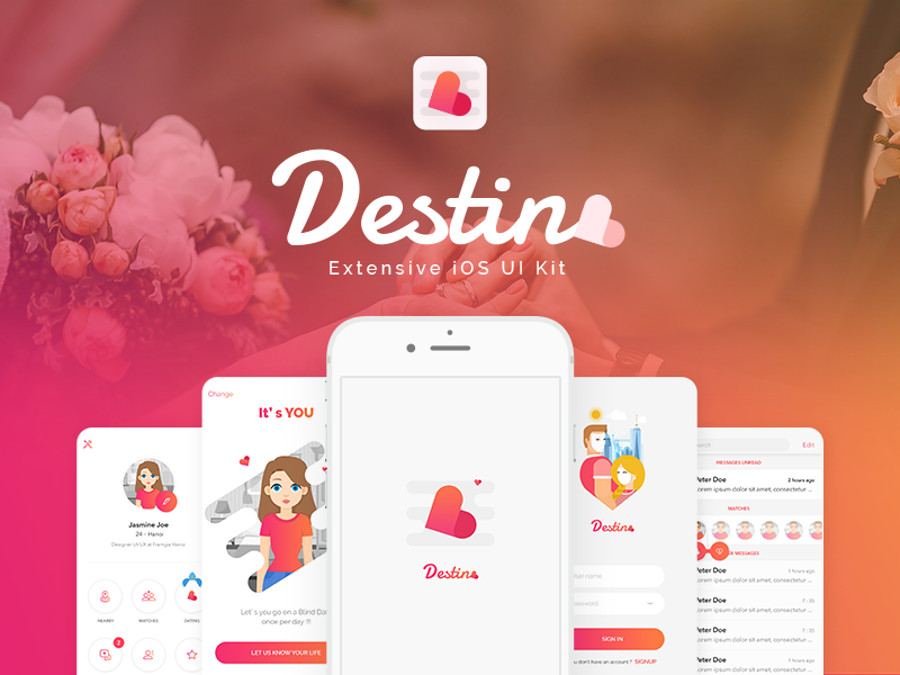 Dating App UI Kits To Speed Up Your Design Workflow CSForm