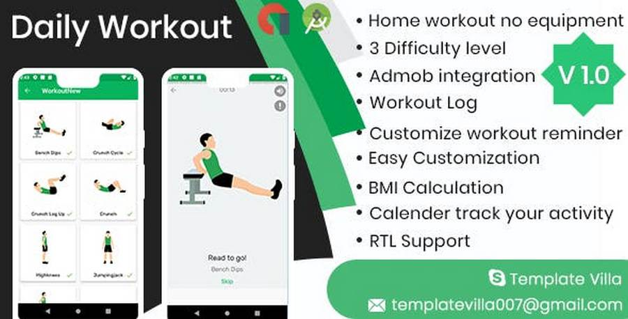 Android App Templates Worth Noticing In 2019 CSForm