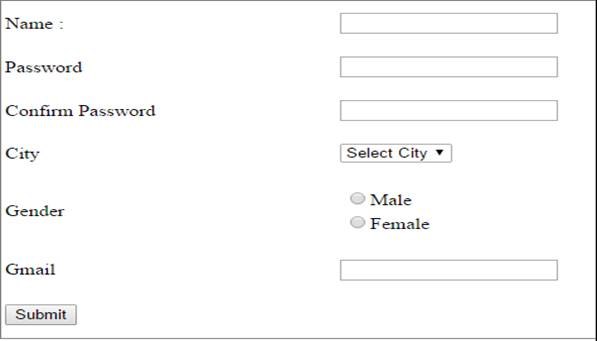 Creating A Simple Registration Form In ASPNET - bio data empty form