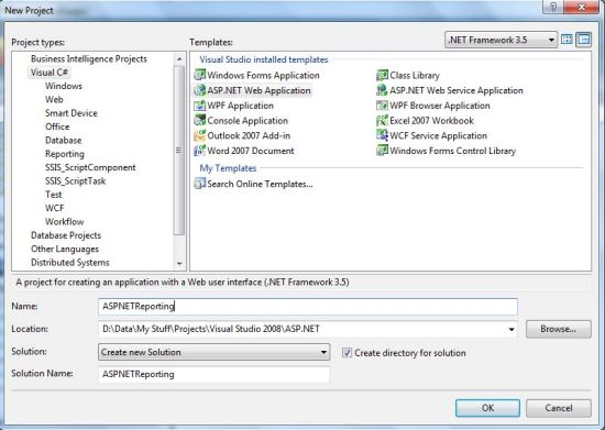 How to Generate Report From SQL Server Database Using Report Wizard - how to create a report