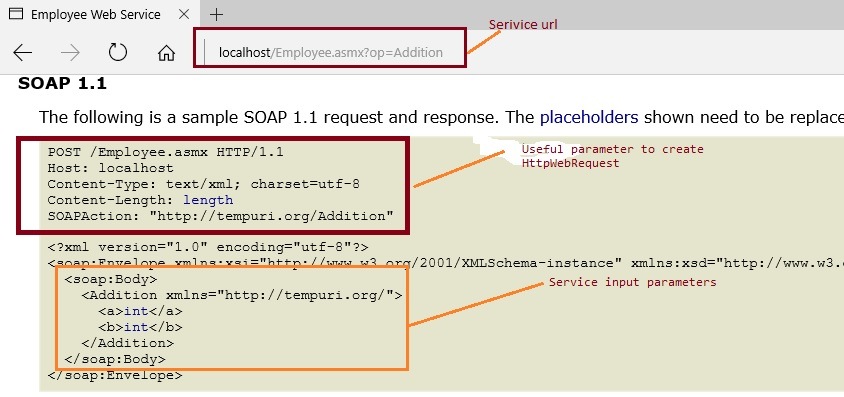 Calling Web Service Using SOAP Request In Console Application