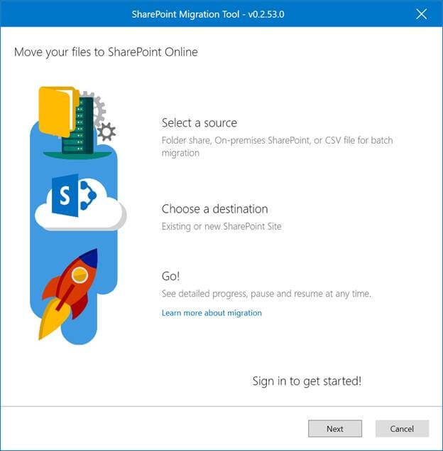 Get To Know The New Microsoft SharePoint Migration Tool - microsoft sharepoint