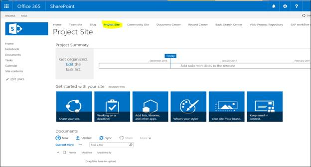 How To Create SharePoint Online Subsite Using Available Template On