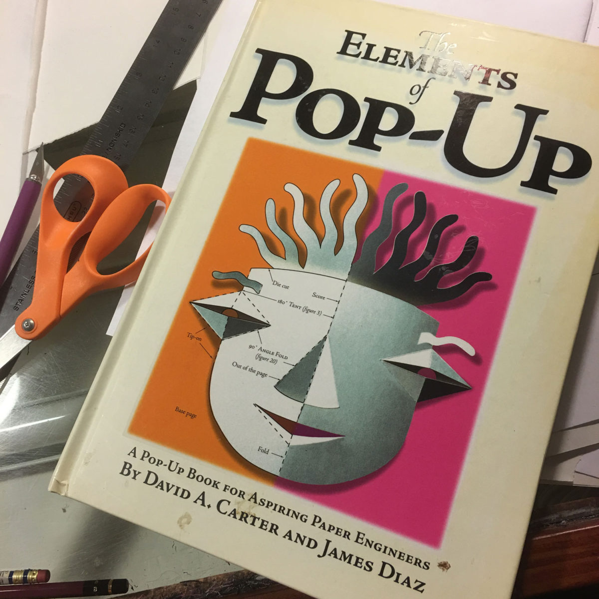 Pop Up Book Cover Fundamentals Of Pop Up Books Cs Jennings