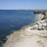 Вид на античную гавань