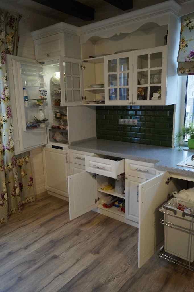 Кухня ясень, эмаль