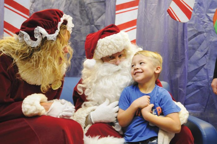 Festival shares holiday cheer