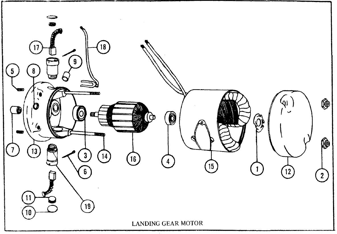 electric motor brush diagram brush dc motors