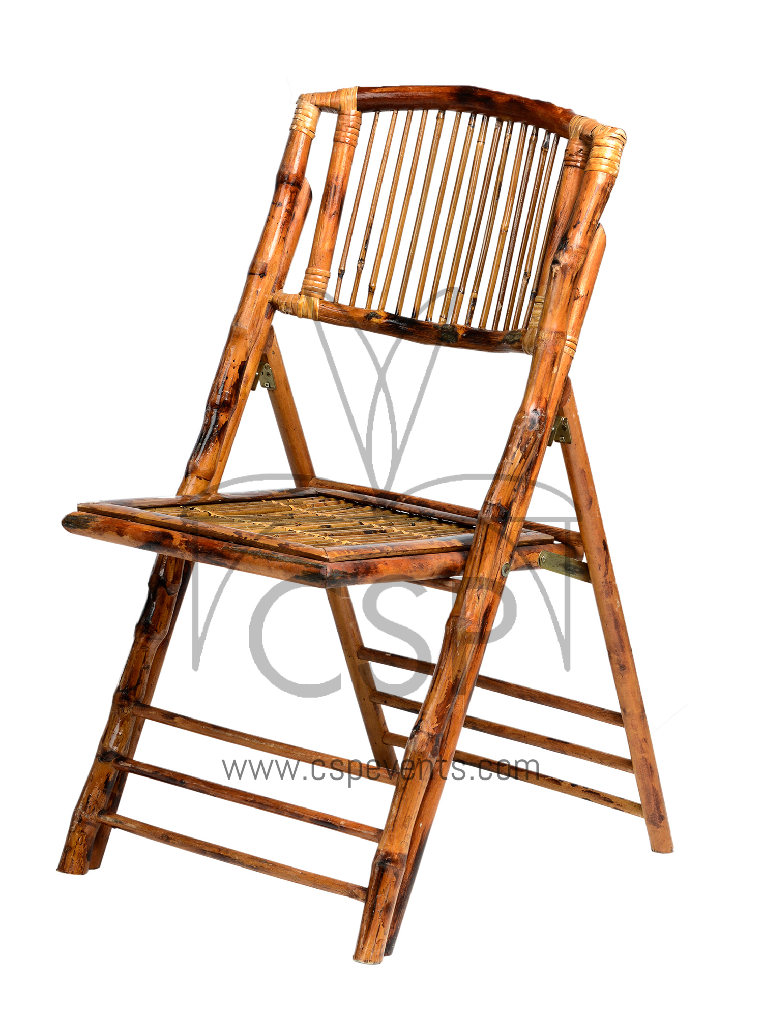 Bamboo Folding Chair Csp
