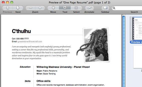 One Page Résumé Site CSS-Tricks - resume site