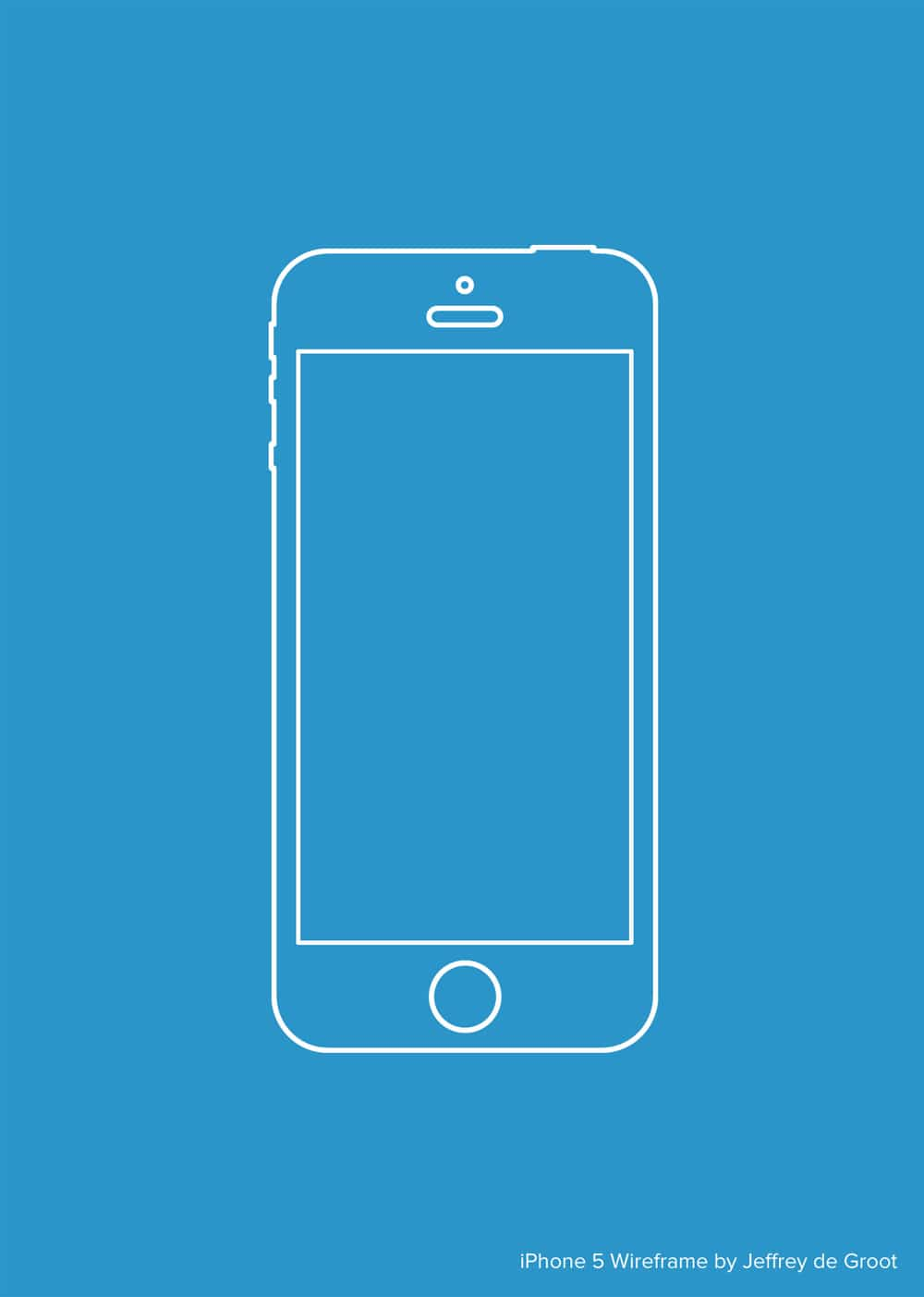 Mockup Iphone Video Latest Collection Of Iphone Wireframe Psds › Wireframes
